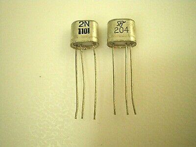 Vtg Germanium Sylvania 2n1101 Nte 103a Radio Amp Amplifier Transistor 2 Cuts