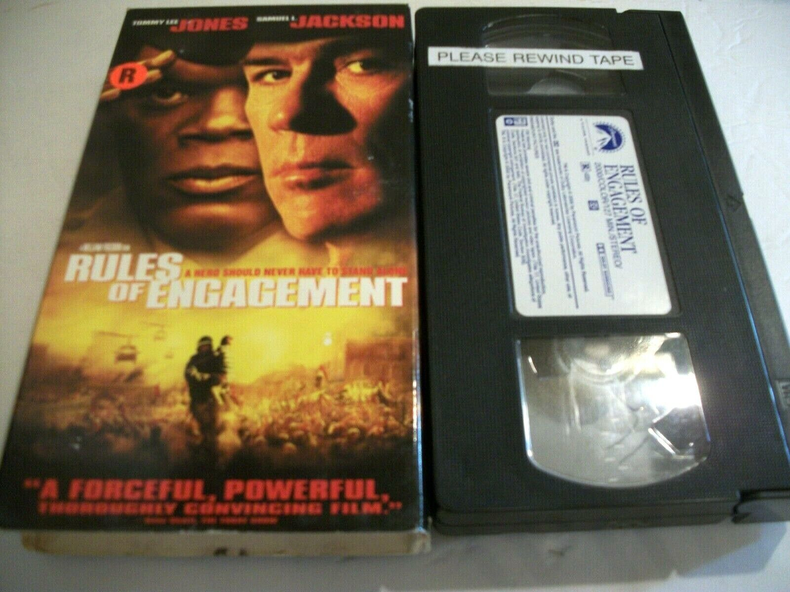 Rules Of Engagement VHS, 2000  - $4.50