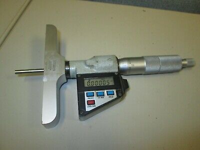 Mitutoyo 329-711-10 Digital Depth Micrometer