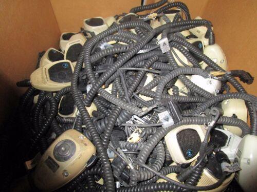 lot of 10 Motorola Microphone 6 Pin Spectra Astro Syntor HMN1080A / HMN1061A