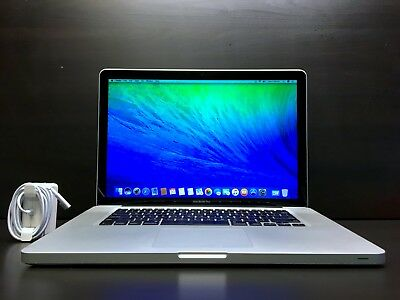 "APPLE MACBOOK PRO 15"" / 2.4GHz CORE / 8GB RAM / 1TB HDD / OSX-2015 / WARRANTY"