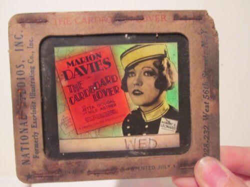 The Cardboard Lover   -Original 1928  Movie Glass Slide - Davies