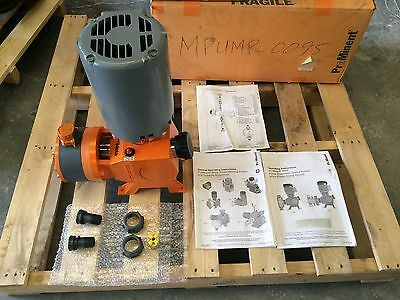 Prominent Meta Mtma Metering Pump 208- 230460vac 3-phase 1hp