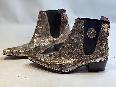 Beautiful Jeffery West Gold Boots