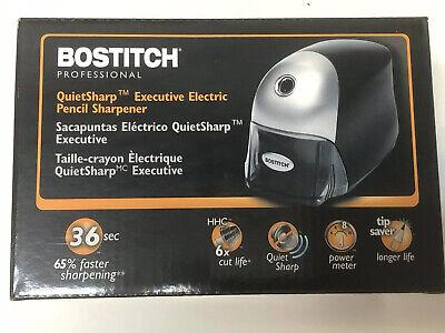 Bostitch Quietsharp Executive Electric Pencil Sharpener Blackeps8hd-blkam10