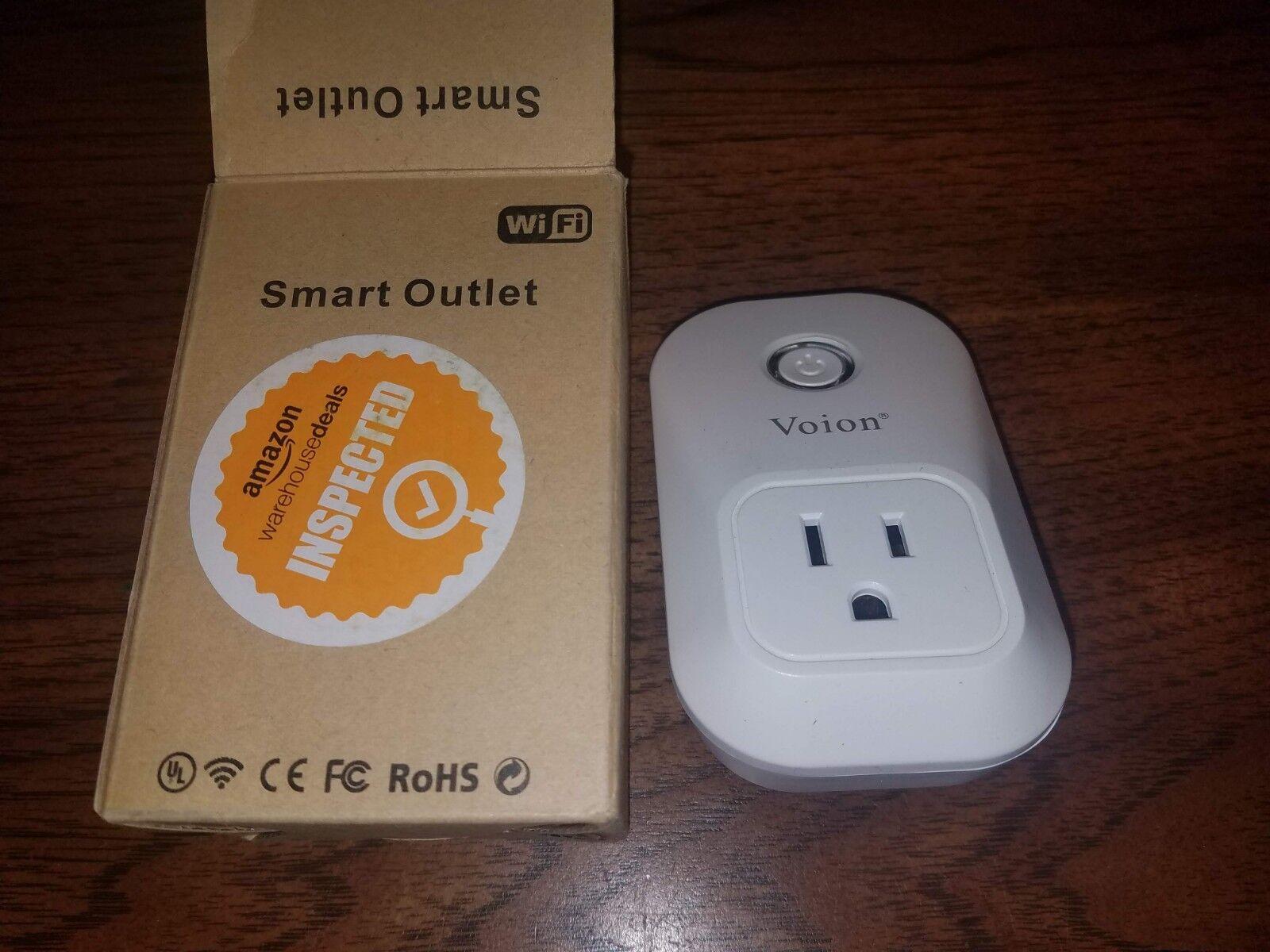 Voion Smart Plug PW701U - Wi-Fi Smart Socket Outlet Works with Amazon Alexa