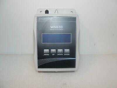 Sensaphone Wsg30 Wireless Sensor Gateway Remote Monitoring System