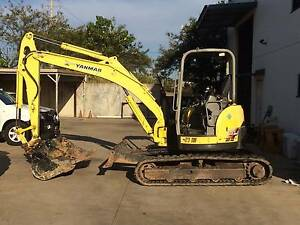 Yanmar Vio55 Excavator Browns Plains Logan Area Preview