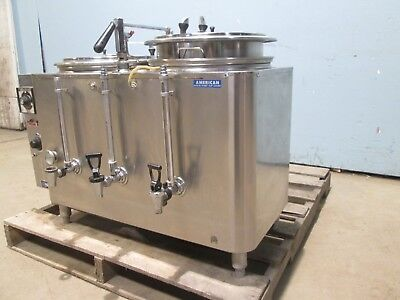 Amw 8443e-nsf H.d. Commercial Dual Urns Electric Teacoffee Brewerdispenser