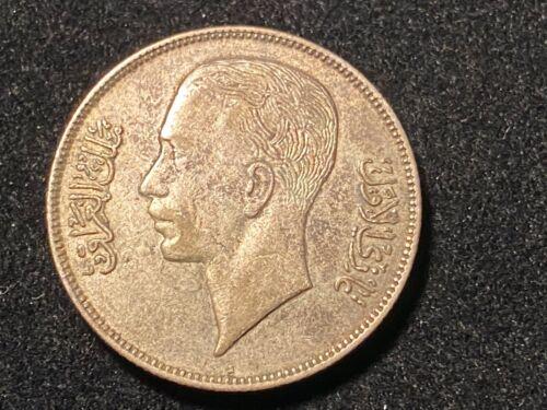 T2: 1938 i Iraq Silver 50 Fils + 1938i 1 fil