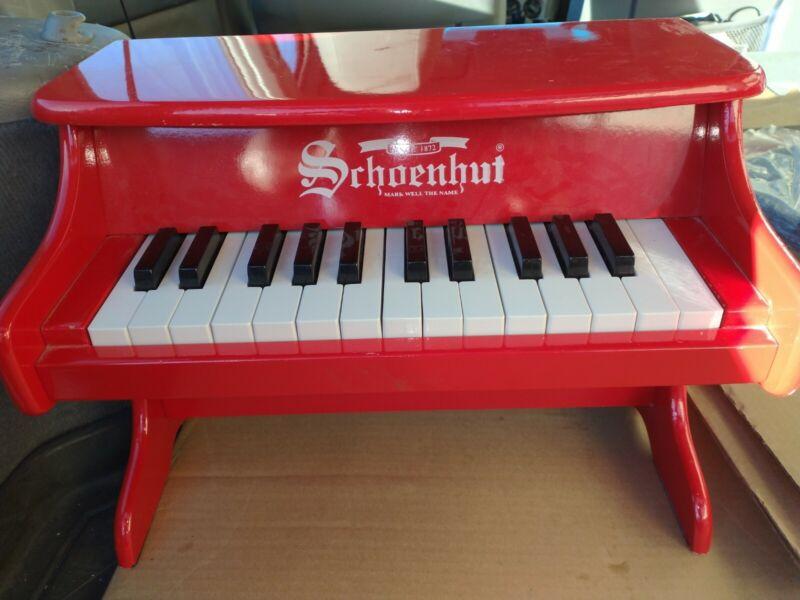 Schoenhut Red My First Piano
