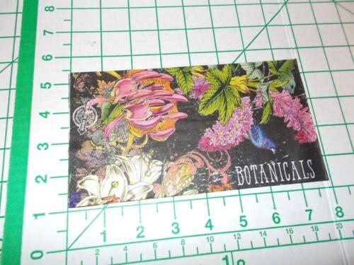 "Two Decorative Hostess Napkins for Decoupage ""Botanical Garden"""