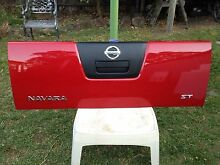 Nissan Navara tail gate. Hallam Casey Area Preview