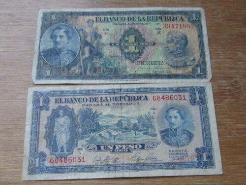 Lot of 2 World Paper Money #2254