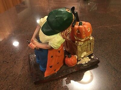 Plastic mold Halloween cat Pumpkin Girl Carve