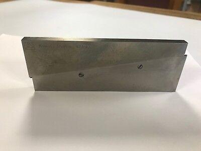 Brown Sharpe 599-673-6 Steel Adjustable Parallel 1-34- 2-14 Nos