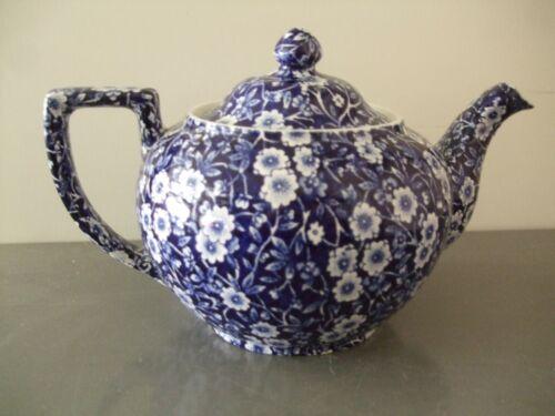 Burleigh Calico Ironstone Tea Pot