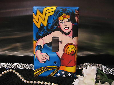 Wonderwoman Wonder Woman Light Switch Wall Plate Cover #1 - Outlet Double - 1 Double Switchplate Cover