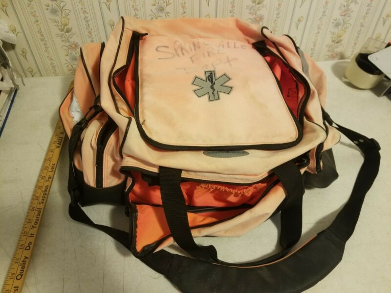 Dyna Med DynaMed Maxi-Medic Bag Fire EMS Medical EMT Paramedic Compartments