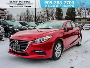 2017 Mazda Mazda3 BACK UP CAM, BLUETOOTH, HEATED SEATS, LEATHER