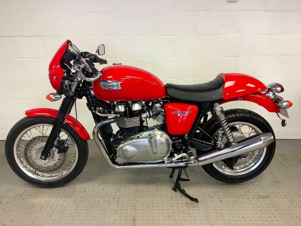 TRIUMPH THRUXTON 900 2012 / 12 CAFE RACER LOVELY CONDITION - 1 OWNER !