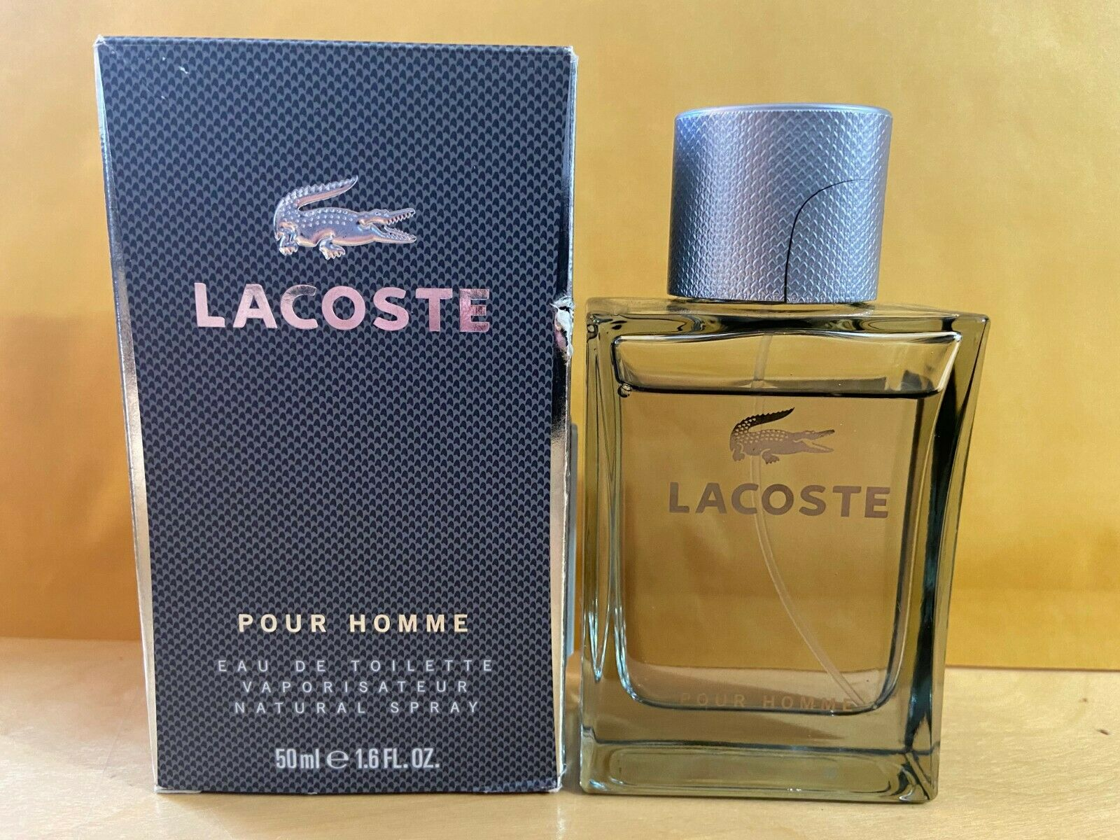 Lacoste Pour Homme By Lacoste Edt Spray 1.6 Oz