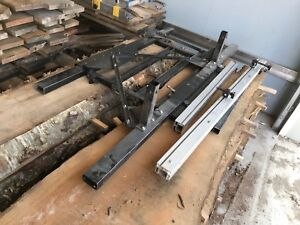 Excalibur sliding table for table saw.