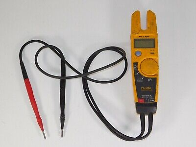 Fluke T5-1000 Voltage Continuity Current Electrical Tester Hand Tool Probes