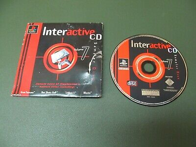 PlayStation 1 (Original) Game – Interactive 7 Demo CD (Tekken 3, Blasto, etc)