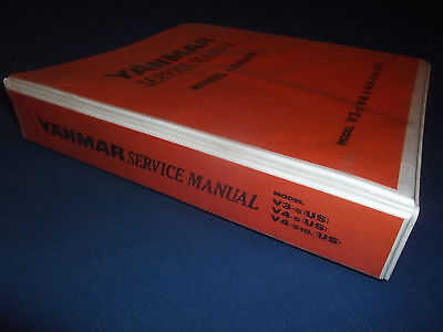 Yanmar V3-5 V4-5 V4-5hl Wheel Loader Service Shop Repair Manual Book