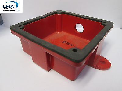 Potter Bbx-4 Red Outdoor Bell Back Box Device 4-38 X 4-38 New