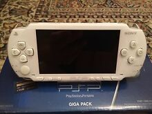 Sony PSP 1000 Ceramic White Value Pack Games Movies and Accessories Annandale Leichhardt Area Preview
