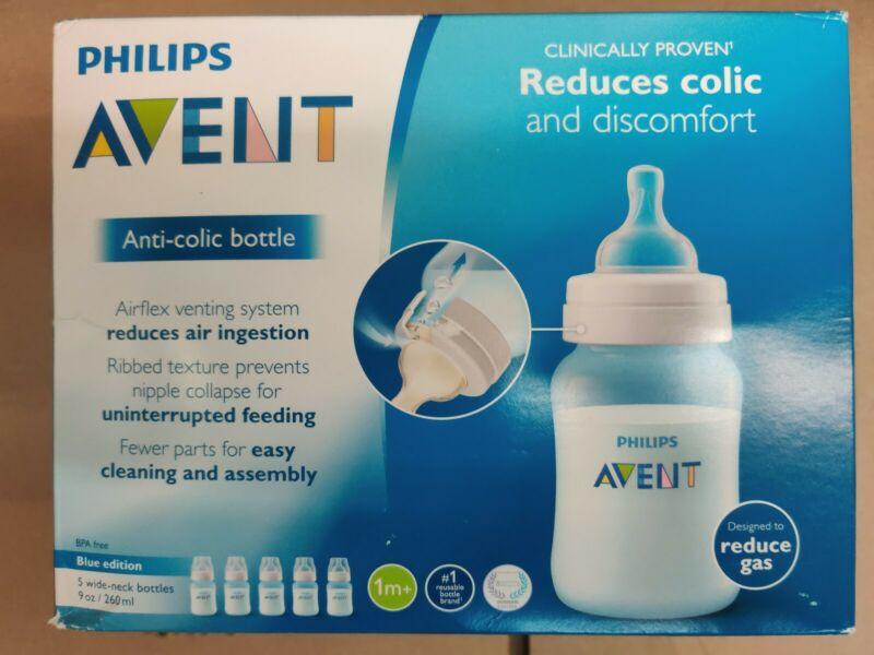 Philips Avent  Anti Colic 5 bottles 9oz