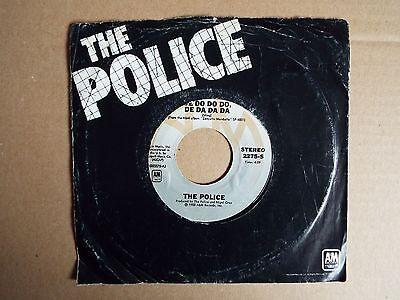 """The Police - De Do Do Do De Da Da Da / Friends 7""""single"""