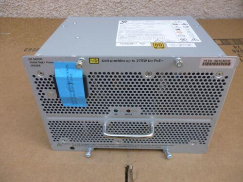 HP J9828A 5400R 700W POE+ Power Supply New Open Box