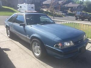 1989 Ford Mustang 5.0 litre