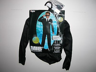NWT NEW Halloween Costume 4-6 S Child Men - Men In Black Halloween Kostüme