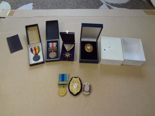 WWII japanese medal set ARMY NAVY BADGE 1