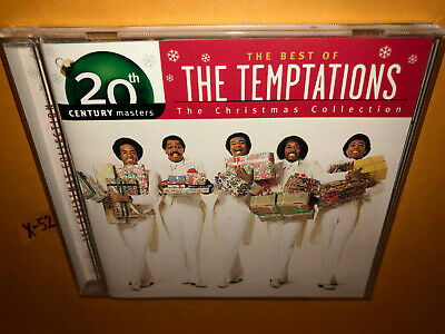 Best of THE TEMPTATIONS Christmas CD hits White X-mas Silent Night (The Temptations The Best Of The Temptations Christmas)