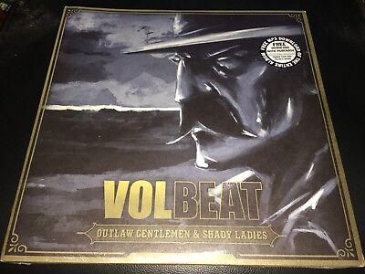"""Volbeat - Outlaw Gentlemen & Shady Ladies (12"""" Vinyl 2LP) Metal New & Sealed"""