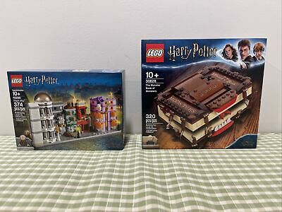 Lego Harry Potter The Monster Book Of Monsters 30628 + 40289 Diagon Alley *Mint*