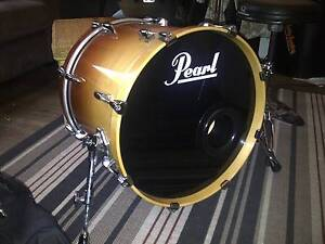 Pearl Masters Custom MMX with hardware, Ragone Cases & Kick Port Newcastle Newcastle Area Preview