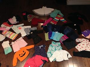 Girls 6-12 month lot