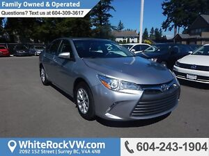 2017 Toyota Camry LE REMOTE KEYLESS ENTRY, A/C & CRUISE CONTROL