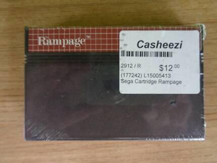 Sega Game Cartridge - Rampage