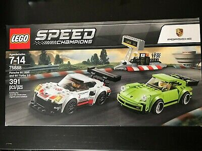 LEGO Speed Champions 75888 Porsche 911 RSR and 911 Turbo 3.0 NISB New & Sealed