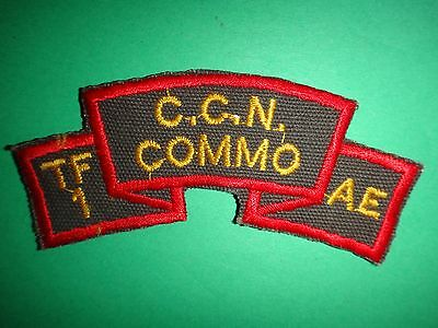 USSF Task Force 1 Advisory Element TF1AE CCN COMMO Scroll Patch