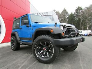 2011 Jeep Wrangler Sport Lift Kit Air Mags Impeccable!