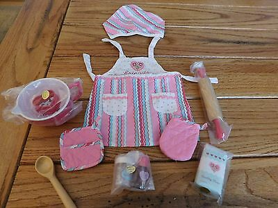 AMERICAN GIRL MYAG  SWEET TREATS ACCESSORY SET NEW  IN PKG RETIRED -PARTIAL SET