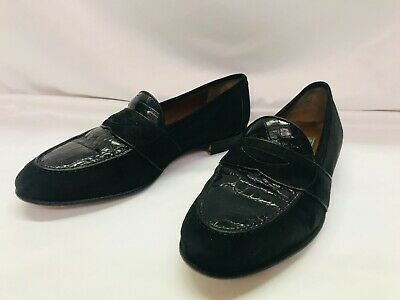 Vintage GUCCI suede Men's Loafers Size 41D